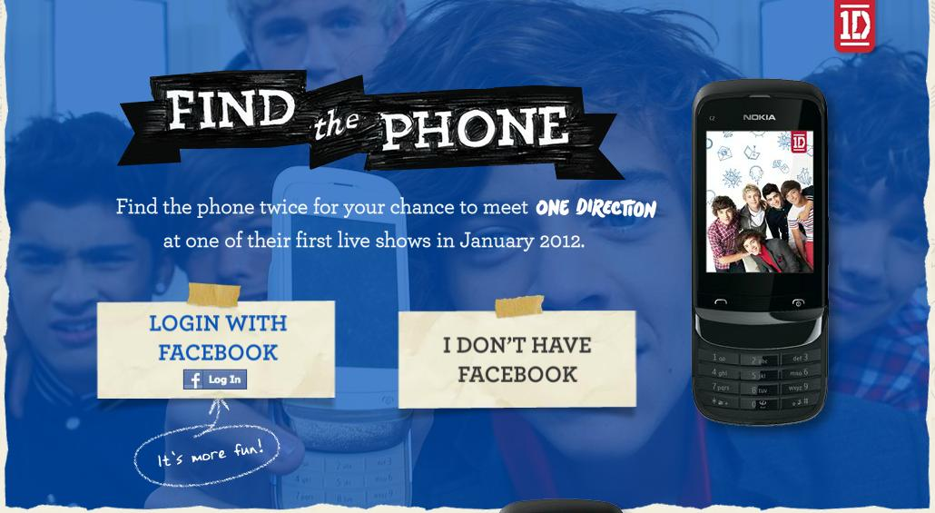Win one of the 1d nokia fans handsets and the chance to meet them on dont miss your last chance to win one of our nokia fans handsets and the chance to meet us on tour in january 1dhq x httpmeet1d one direction m4hsunfo